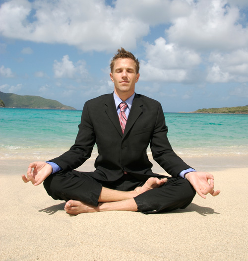 man-doing-yoga-in-business-suit-on-beach1